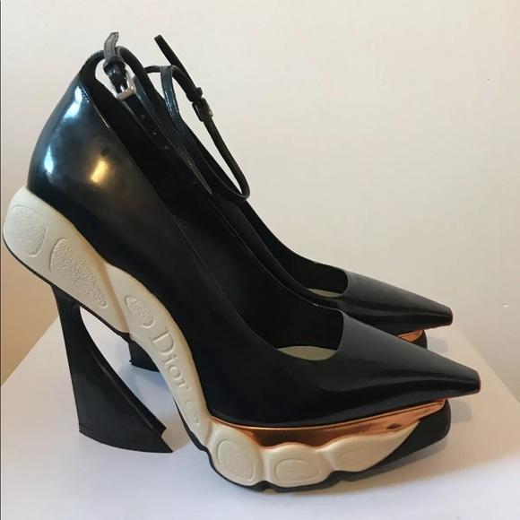 8349da41947 Dior runway raf Simons sneaker heels as.3 fusion